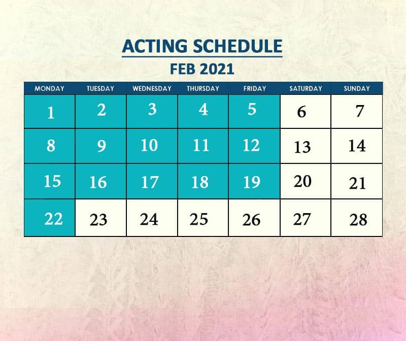 Acting Feb 2021