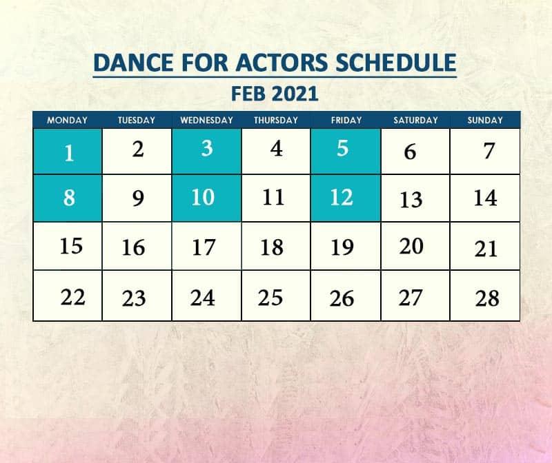 Dance for Actors Feb 2021