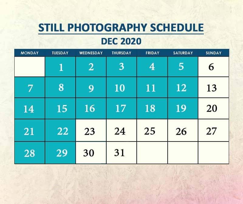 Still Photography Dec 2020