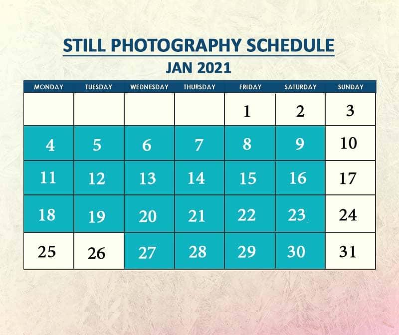 Still Photography Jan 2021