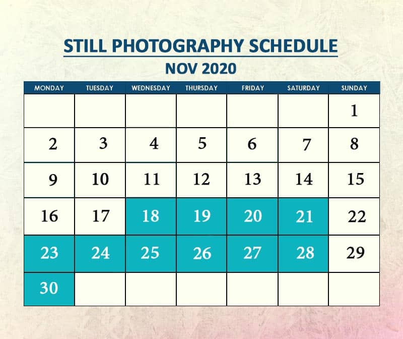 Still Photography Nov 2020
