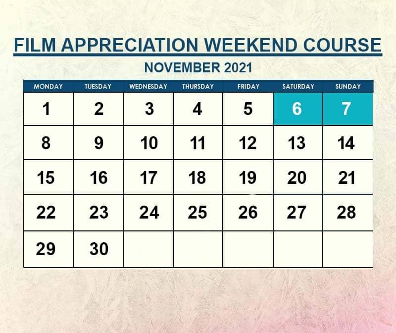 Film Appreciation November 2021