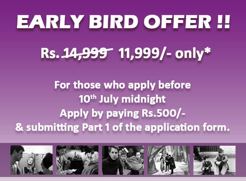 Film Appreciation Early Bird Offer 1
